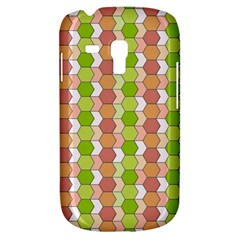 Allover Graphic Red Green Samsung Galaxy S3 Mini I8190 Hardshell Case
