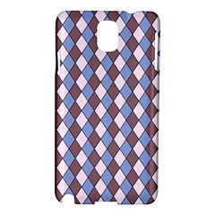 Allover Graphic Blue Brown Samsung Galaxy Note 3 N9005 Hardshell Case by ImpressiveMoments