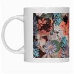 Spring Flowers White Coffee Mug