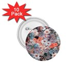 Spring Flowers 1.75  Button (10 pack)
