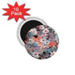Spring Flowers 1.75  Button Magnet (10 pack)