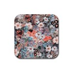 Spring Flowers Drink Coaster (Square)