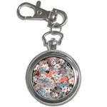 Spring Flowers Key Chain & Watch