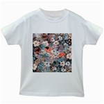 Spring Flowers Kids' T-shirt (White)