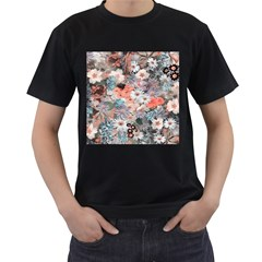 Spring Flowers Mens' T Shirt (black) by ImpressiveMoments