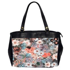 Spring Flowers Oversize Office Handbag (two Sides) by ImpressiveMoments