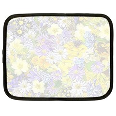 Spring Flowers Soft Netbook Sleeve (large) by ImpressiveMoments