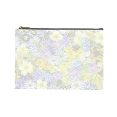 Spring Flowers Soft Cosmetic Bag (large) by ImpressiveMoments