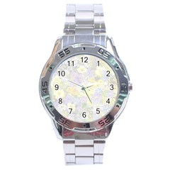 Spring Flowers Soft Stainless Steel Watch by ImpressiveMoments