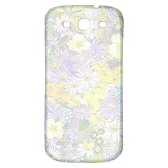 Spring Flowers Soft Samsung Galaxy S3 S Iii Classic Hardshell Back Case by ImpressiveMoments
