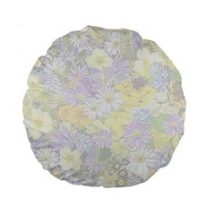 Spring Flowers Soft 15  Premium Round Cushion  by ImpressiveMoments