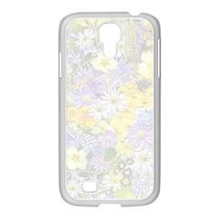 Spring Flowers Soft Samsung Galaxy S4 I9500/ I9505 Case (white) by ImpressiveMoments