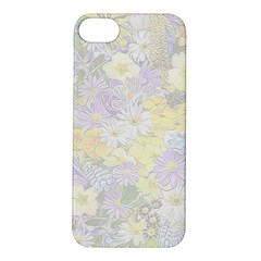 Spring Flowers Soft Apple Iphone 5s Hardshell Case by ImpressiveMoments