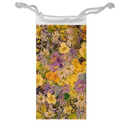 Spring Flowers Effect Jewelry Bag by ImpressiveMoments