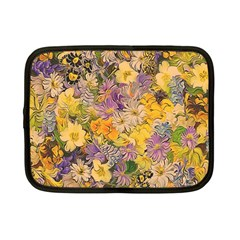 Spring Flowers Effect Netbook Sleeve (small) by ImpressiveMoments
