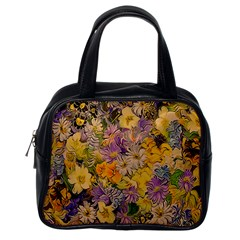 Spring Flowers Effect Classic Handbag (one Side) by ImpressiveMoments