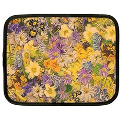 Spring Flowers Effect Netbook Sleeve (xl) by ImpressiveMoments