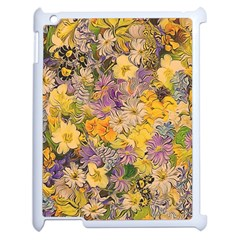 Spring Flowers Effect Apple Ipad 2 Case (white) by ImpressiveMoments