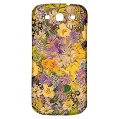 Spring Flowers Effect Samsung Galaxy S3 S Iii Classic Hardshell Back Case by ImpressiveMoments