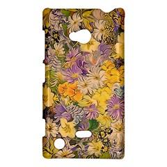 Spring Flowers Effect Nokia Lumia 720 Hardshell Case by ImpressiveMoments