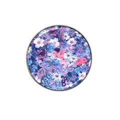 Spring Flowers Blue Golf Ball Marker 10 Pack (for Hat Clip) by ImpressiveMoments