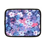 Spring Flowers Blue Netbook Sleeve (Small)