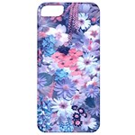 Spring Flowers Blue Apple iPhone 5 Classic Hardshell Case