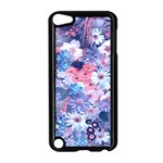Spring Flowers Blue Apple iPod Touch 5 Case (Black)