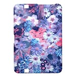 Spring Flowers Blue Kindle Fire HD 8.9  Hardshell Case