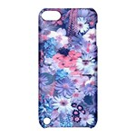 Spring Flowers Blue Apple iPod Touch 5 Hardshell Case with Stand