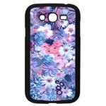 Spring Flowers Blue Samsung Galaxy Grand DUOS I9082 Case (Black)