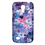 Spring Flowers Blue Samsung Galaxy S4 Mini (GT-I9190) Hardshell Case