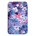 Spring Flowers Blue Samsung Galaxy Tab 3 (7 ) P3200 Hardshell Case