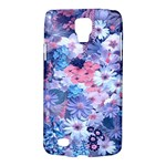 Spring Flowers Blue Samsung Galaxy S4 Active (I9295) Hardshell Case