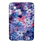 Spring Flowers Blue Samsung Galaxy Tab 2 (7 ) P3100 Hardshell Case