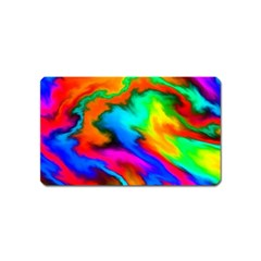 Crazy Effects  Magnet (name Card) by ImpressiveMoments