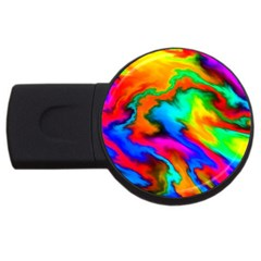 Crazy Effects  4gb Usb Flash Drive (round) by ImpressiveMoments