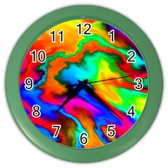 Crazy Effects  Wall Clock (color) by ImpressiveMoments