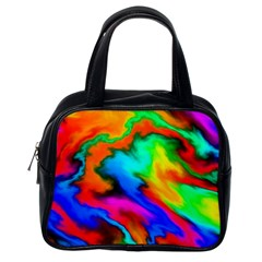 Crazy Effects  Classic Handbag (one Side) by ImpressiveMoments