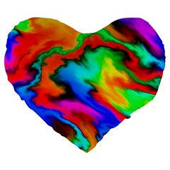 Crazy Effects  19  Premium Heart Shape Cushion by ImpressiveMoments