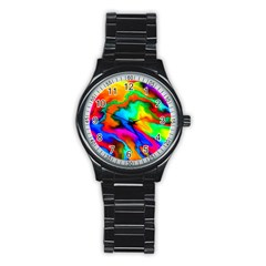 Crazy Effects  Sport Metal Watch (black) by ImpressiveMoments