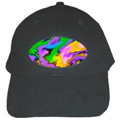 Crazy Effects  Black Baseball Cap by ImpressiveMoments