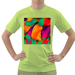 Crazy Effects  Mens  T Shirt (green) by ImpressiveMoments