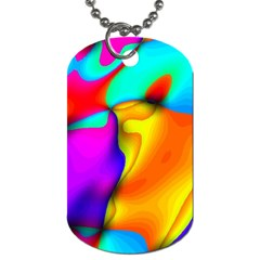 Crazy Effects Dog Tag (one Sided) by ImpressiveMoments