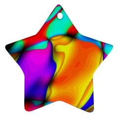 Crazy Effects Star Ornament (two Sides) by ImpressiveMoments