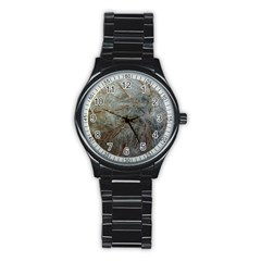 Art And Design Sport Metal Watch (black) by WonderfulDreamPicture