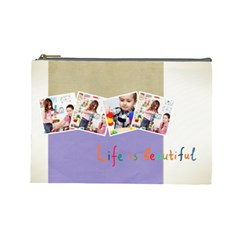 Kids By Kids   Cosmetic Bag (large)   Zjfutrhdeq69   Www Artscow Com Front