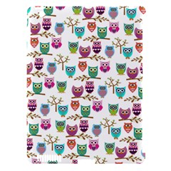 Happy Owls Apple Ipad 3/4 Hardshell Case (compatible With Smart Cover) by Ancello