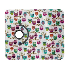 Happy Owls Samsung Galaxy S  Iii Flip 360 Case by Ancello