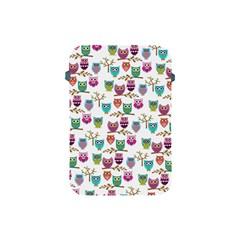 Happy Owls Apple Ipad Mini Protective Sleeve by Ancello
